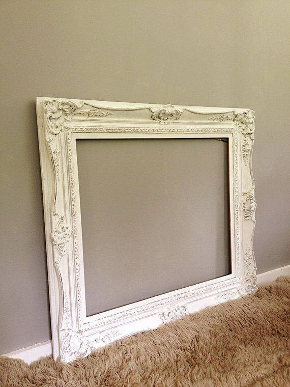 282 Best Upcycled Ideas Images On Pinterest | Painted Furniture Within Large White French Mirrors (#7 of 30)