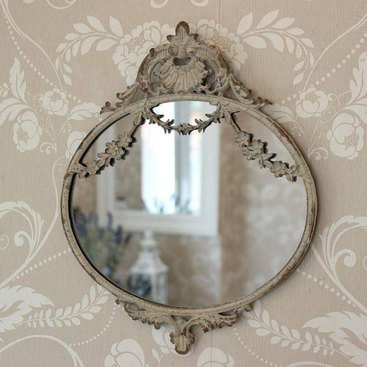 287 Best Vintage Mirrors / Brocante Spiegels Images On Pinterest Regarding Ornate Vintage Mirrors (#7 of 30)