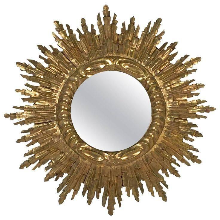288 Best Mirror Images On Pinterest | Mirror Mirror, Decorative Within Bronze Starburst Mirrors (#3 of 20)