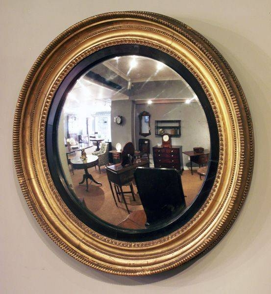29 Best Antique >> Mirrors Images On Pinterest | Antique Mirrors Intended For Large Round Convex Mirrors (#5 of 30)
