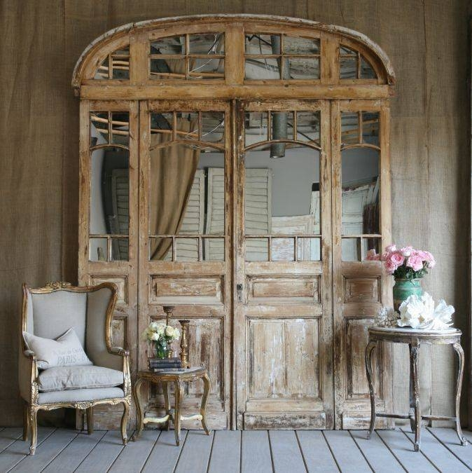 29 Best Bedroom Doors Images On Pinterest | Bedroom Doors, Closet Regarding Vintage French Mirrors (#6 of 30)