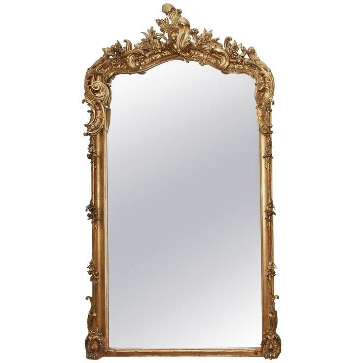 29 Best Gilt Mirror Images On Pinterest | Mirror Walls, 19Th Pertaining To French Gilt Mirrors (#6 of 30)