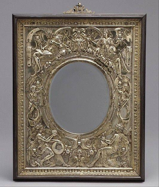 Inspiration about 29 Best Gilt Mirror Images On Pinterest   Mirror Walls, 19th Pertaining To Silver Gilded Mirrors (#25 of 30)