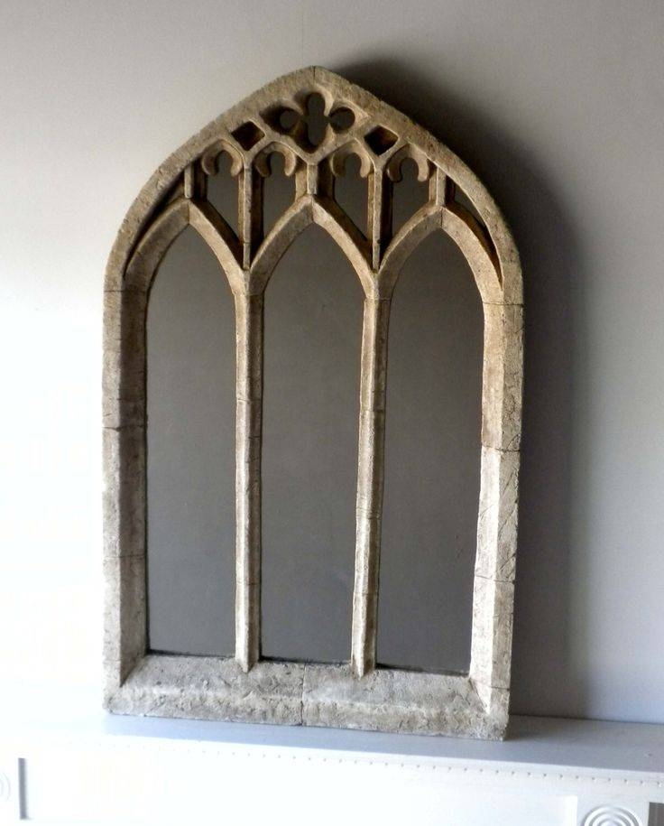 29 Best Gothic Mirrors Images On Pinterest | Window Mirror, Arches With Gothic Style Mirrors (View 12 of 20)