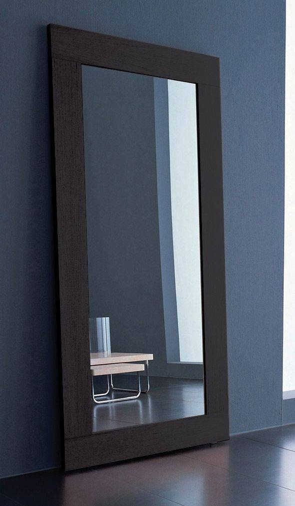 Inspiration about 29 Best Leaning Mirrors Images On Pinterest | Mirror Mirror Pertaining To Contemporary Floor Standing Mirrors (#1 of 15)
