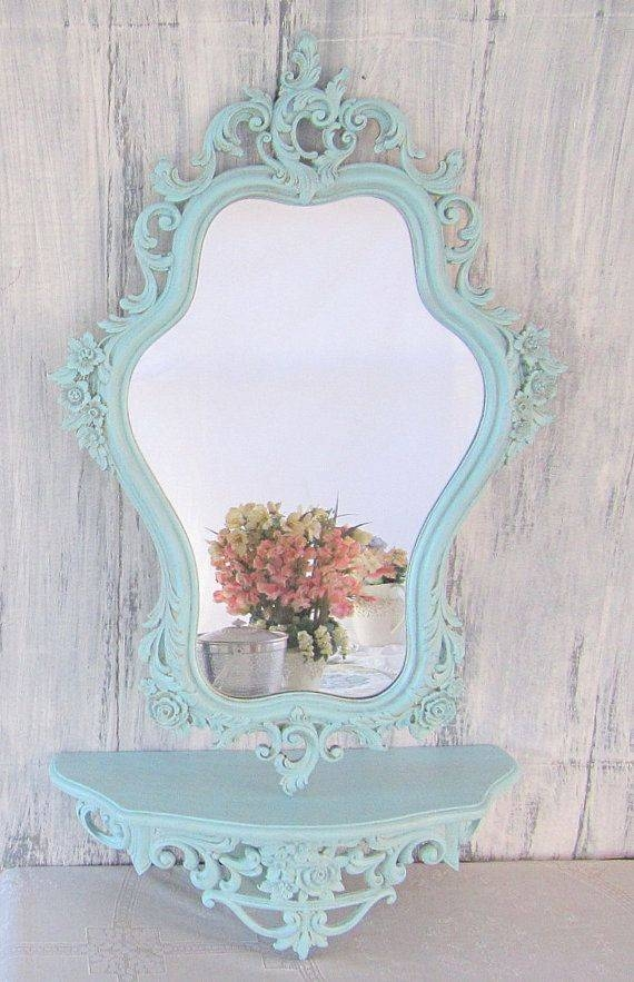 29 Best Mirror Mirror On The Wall Images On Pinterest | Mirror With Regard To White Shabby Chic Mirrors Sale (#4 of 20)