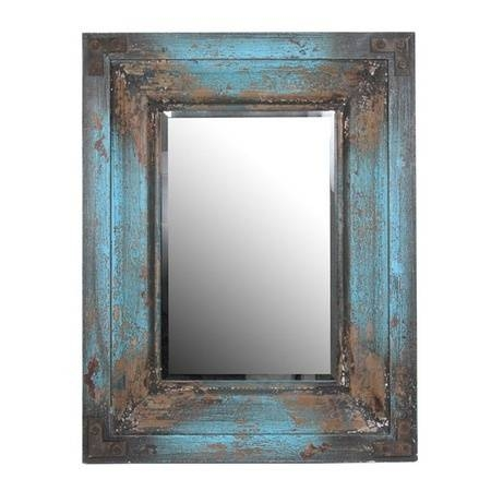 29 Best Mirrors Images On Pinterest | Mirror Mirror, Bathroom Within Blue Distressed Mirrors (#5 of 30)