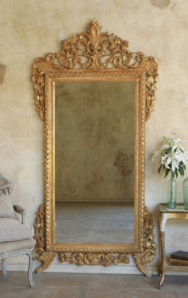 29 Best Vintage Gilded Mirrors Images On Pinterest | Mirror Mirror Regarding Gilded Mirrors (#3 of 20)