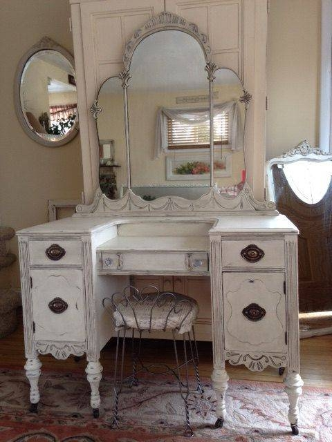 2965 Best Shabby Chic And More Images On Pinterest | Shabby Chic Throughout Shabby Chic White Distressed Mirrors (#6 of 30)