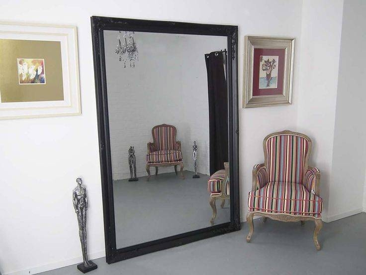 Inspiration about 30 Best Large Mirrors Images On Pinterest | Large Mirrors, Wall Within Large Black Mirrors (#13 of 30)