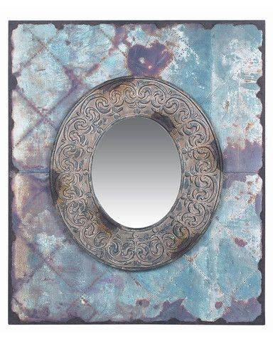 30 Best Mirror Magic – Quirky Wall Mirrors At Netdeco Images On With Blue Distressed Mirrors (#6 of 30)