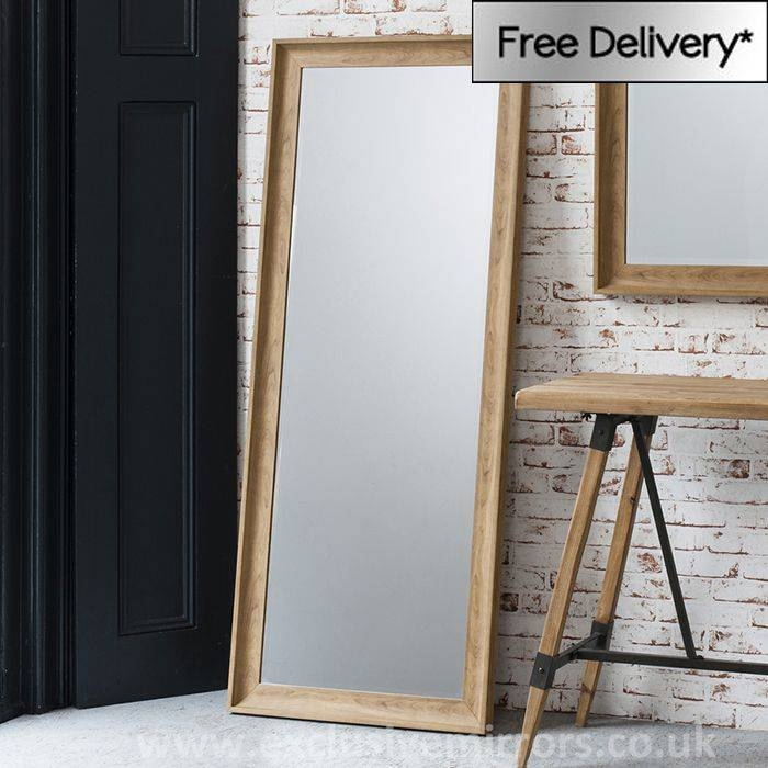 Inspiration about 30 Best Mirrors Images On Pinterest | Mirror Mirror, Full Length In Oak Framed Wall Mirrors (#13 of 20)
