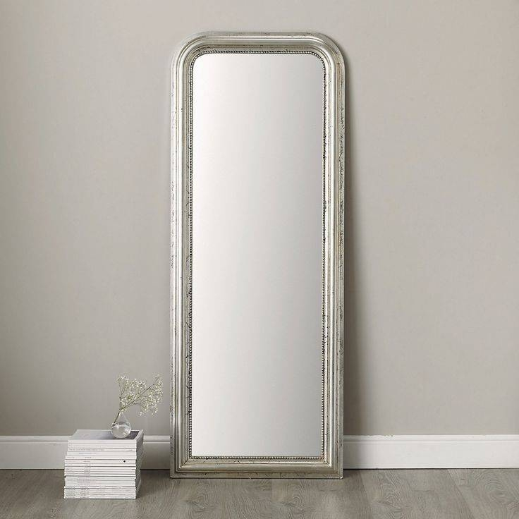 30 Best Mirrors Images On Pinterest | Mirror Mirror, Full Length Regarding Long Silver Mirrors (#5 of 30)