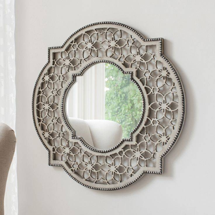 30 Best Round Mirrors Images On Pinterest | Round Mirrors, Wall In Shabby Chic Round Mirrors (#5 of 20)