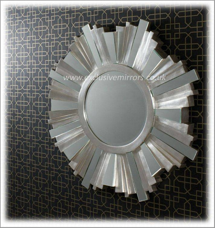 Inspiration about 30 Best Round Mirrors Images On Pinterest | Round Mirrors, Wall Regarding Round Silver Mirrors (#26 of 30)