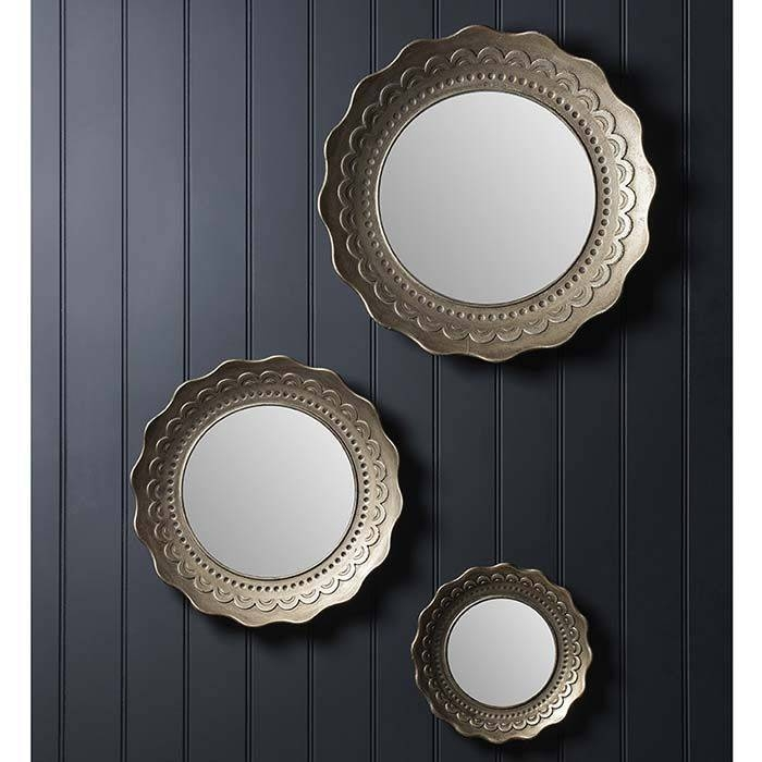 Inspiration about 30 Best Round Mirrors Images On Pinterest | Round Mirrors, Wall Throughout Large Round Gold Mirrors (#13 of 30)