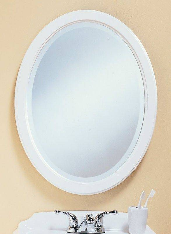 Inspiration about 31 Best Frameless Mirrors Images On Pinterest | Frameless Mirror Intended For Beveled Edge Oval Mirrors (#8 of 20)
