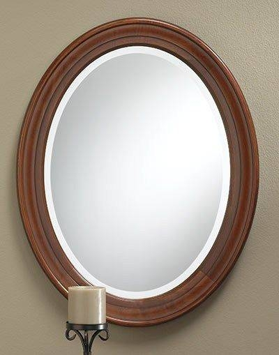 Inspiration about 31 Best Frameless Mirrors Images On Pinterest | Frameless Mirror Throughout Beveled Edge Oval Mirrors (#12 of 20)
