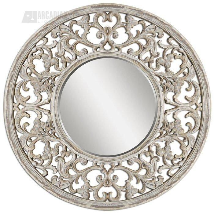 31 Best Round Mirror Images On Pinterest | Round Mirrors, Mirror Throughout Unique Round Mirrors (#4 of 30)