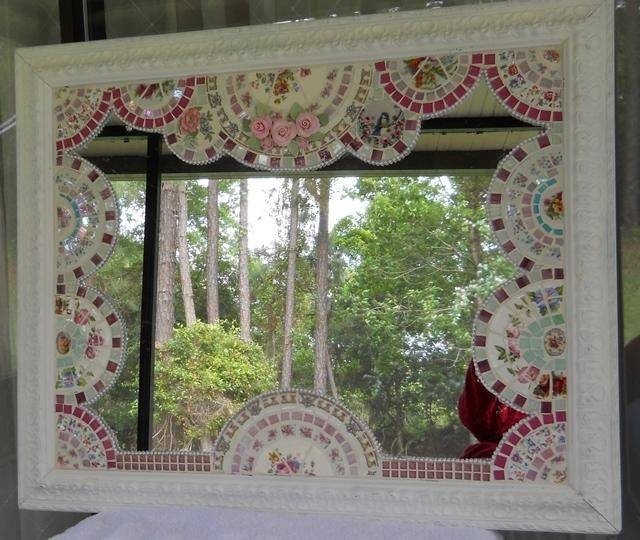 312 Best China Mosaic Images On Pinterest | Mosaic Art, Mosaic And With Large Mosaic Mirrors (#2 of 30)