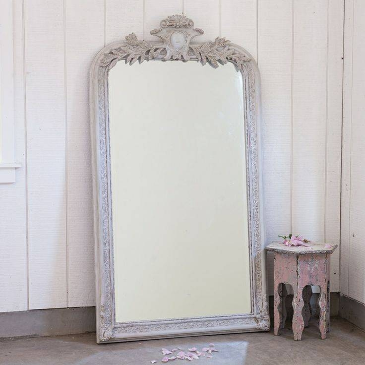 315 Best Frames & Mirrors Images On Pinterest | Mirror Mirror Intended For White Large Shabby Chic Mirrors (#6 of 30)