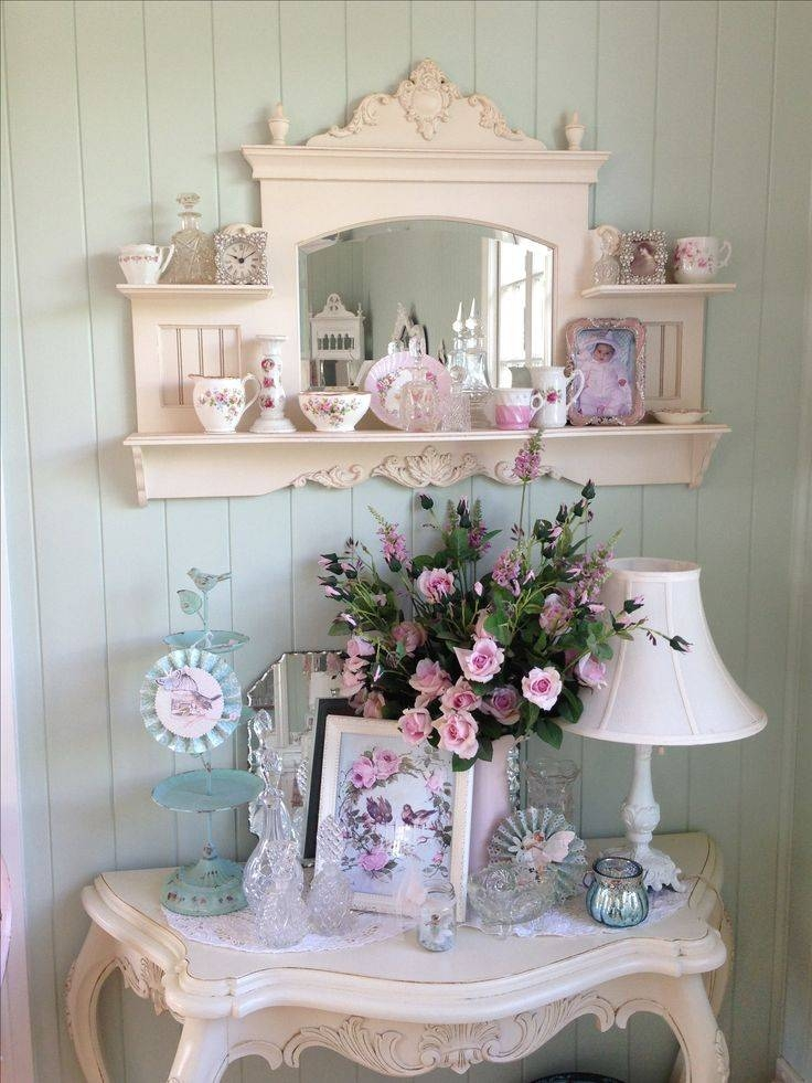 Inspiration about 31517 Best Shabby Chic (Group Board) Images On Pinterest | Shabby Pertaining To Shabby Chic Mirrors With Shelf (#21 of 30)