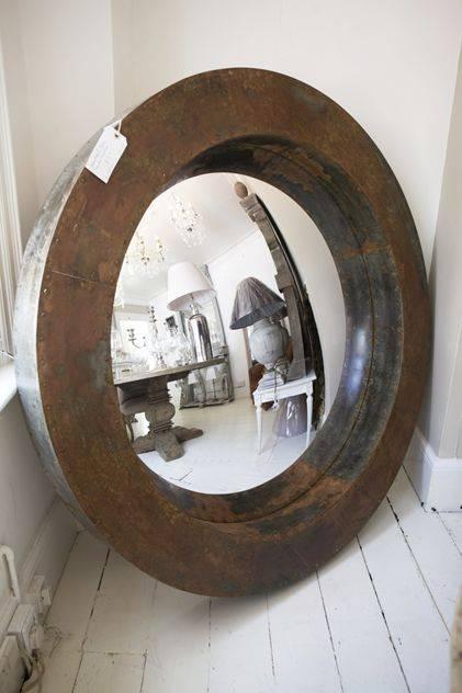32 Best Convex Mirrors Images On Pinterest | Convex Mirror, Mirror Intended For White Convex Mirrors (#3 of 30)