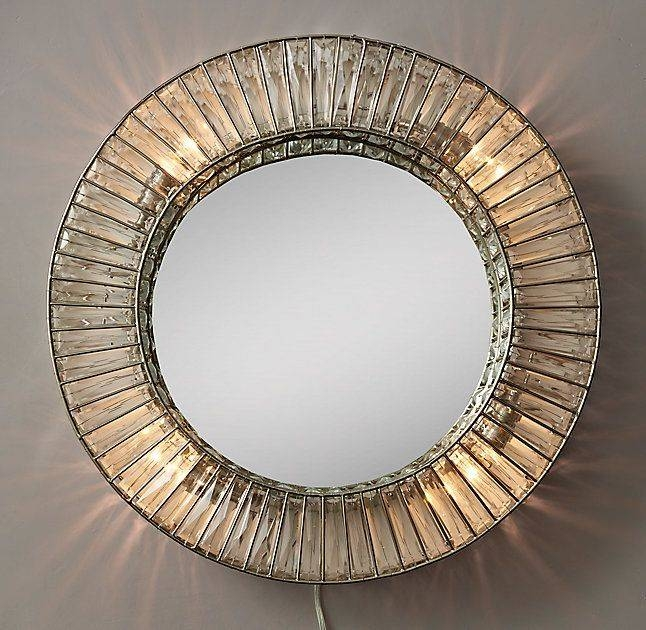 32 Best Mirrors Images On Pinterest | Mirror Mirror, Bedroom Ideas For Mirrors With Crystals (#11 of 30)