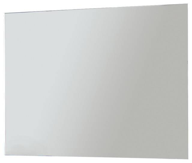 "32"" Frameless Led Light Mirror – Contemporary – Bathroom Mirrors In No Frame Wall Mirrors (#3 of 20)"