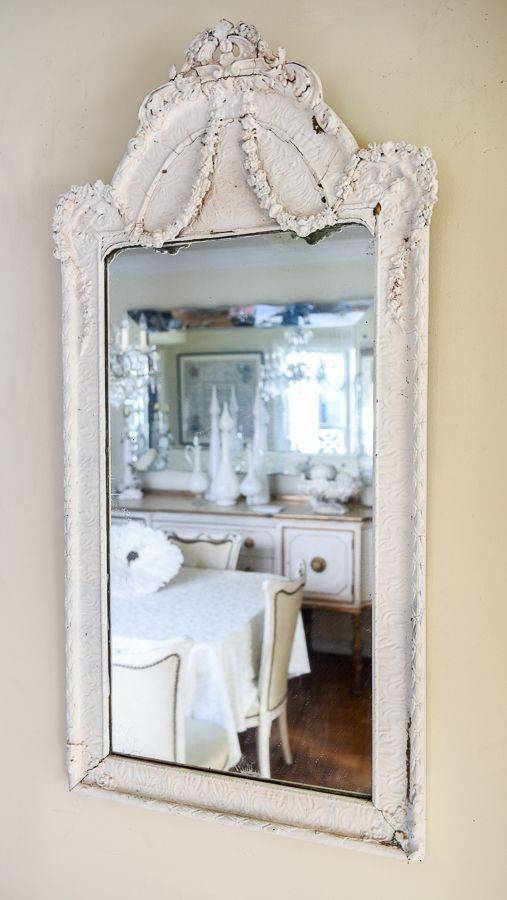 321 Best M I R R O R S Images On Pinterest | Mirror Mirror, Mirror With White French Mirrors (#3 of 20)