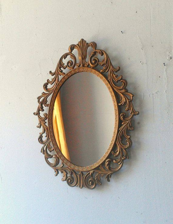 323 Best Mirror, Mirror Images On Pinterest | Mirror Mirror Inside Ornate Vintage Mirrors (#9 of 30)
