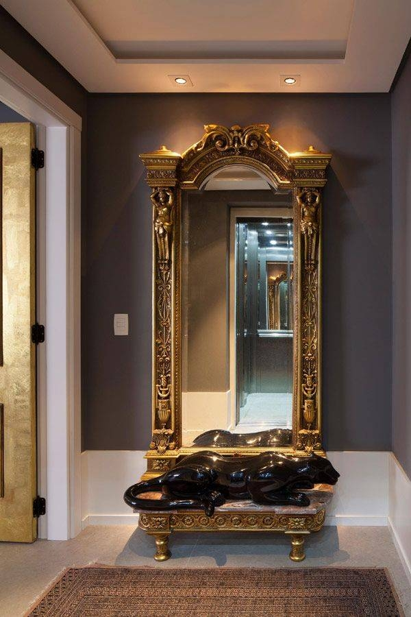 Inspiration about 328 Best Mirrors Images On Pinterest | Mirror Mirror, Antique For Large Gold Antique Mirrors (#29 of 30)
