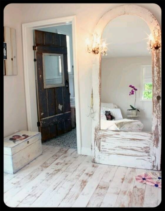 33 Best Mirror Mirror On The Wall Images On Pinterest | Mirror Intended For Shabby Chic Free Standing Mirrors (#7 of 30)