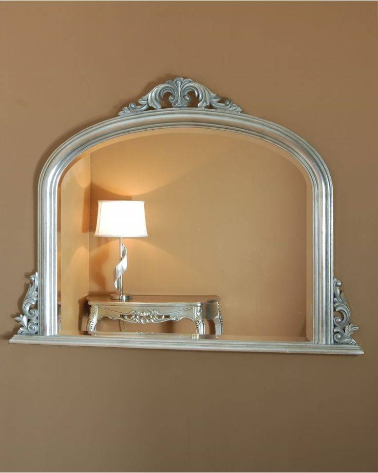 33 Best Mirrors Images On Pinterest | Wall Mirrors, Antique Silver Intended For Curved Top Mirrors (View 18 of 30)