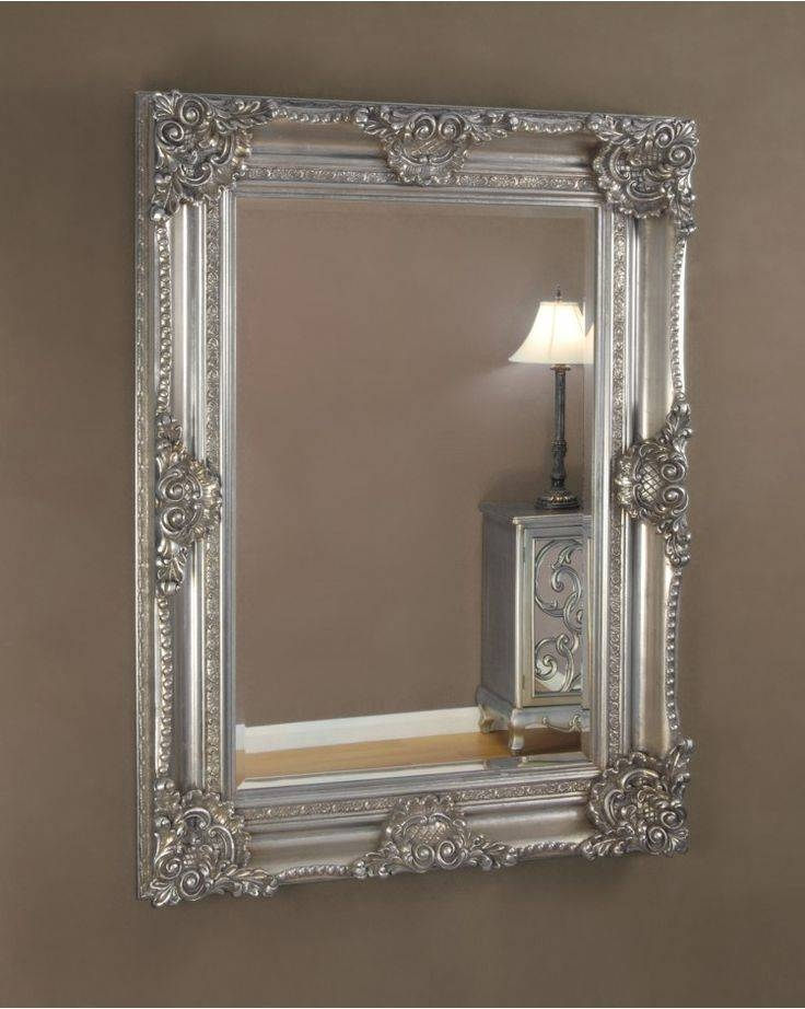 Inspiration about 33 Best Mirrors Images On Pinterest | Wall Mirrors, Antique Silver Pertaining To Silver Ornate Wall Mirrors (#20 of 20)