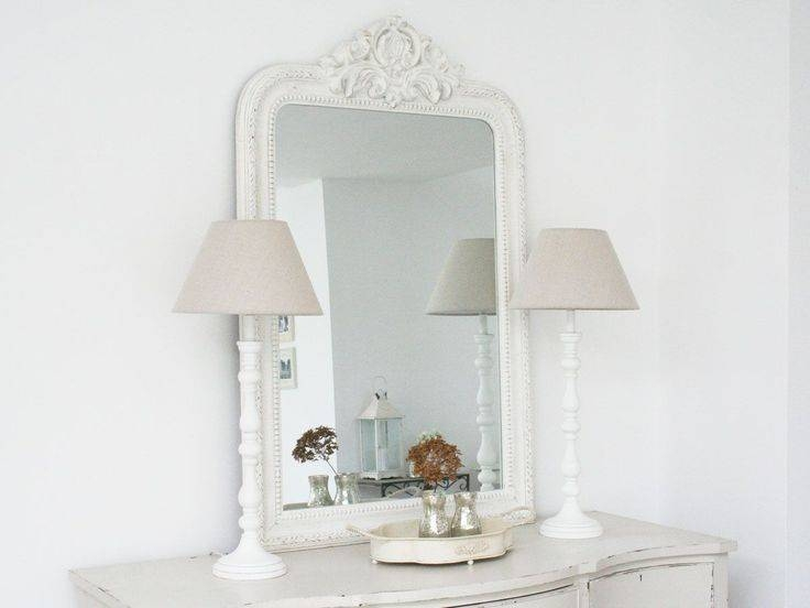 339 Best ~ Mirrors ~ Images On Pinterest | Mirror Mirror, Ornate In Large White Rococo Mirrors (#5 of 30)