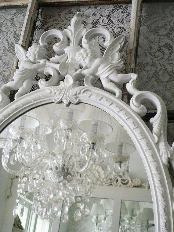 339 Best ~ Mirrors ~ Images On Pinterest | Mirror Mirror, Ornate Regarding Vintage French Mirrors (#8 of 30)