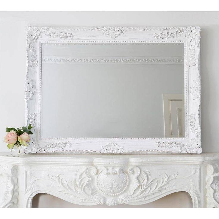 339 Best ~ Mirrors ~ Images On Pinterest | Mirror Mirror, Ornate Throughout White French Mirrors (#4 of 20)
