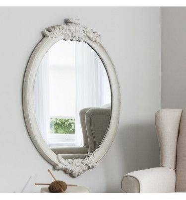 339 Best ~ Mirrors ~ Images On Pinterest | Mirror Mirror, Ornate With Regard To Oval Cream Mirrors (#4 of 30)