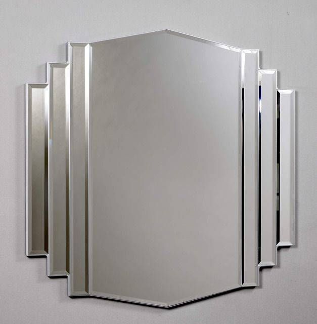 Inspiration about 34 Best Art Deco – Mirrors Images On Pinterest | Art Deco Mirror With Regard To Art Deco Large Mirrors (#9 of 20)