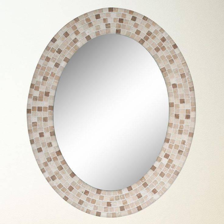 34 Best Bathroom Mirrors Images On Pinterest | Bathroom Mirrors In Oval Mirrors For Walls (View 4 of 20)