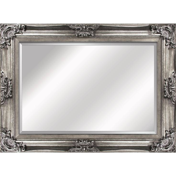Inspiration about 34 Best Mirrors Images On Pinterest | Mirror Mirror, Wall Mirrors In Vintage Silver Mirrors (#15 of 20)