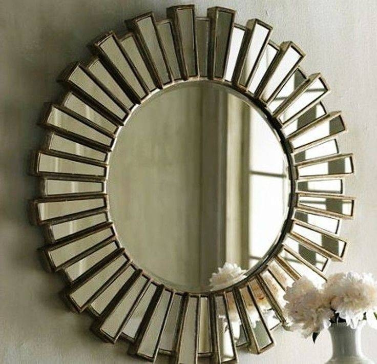 Inspiration about 34 Best Mirrors Images On Pinterest | Mirror Mirror, Wall Mirrors Intended For Large Round Gold Mirrors (#2 of 30)