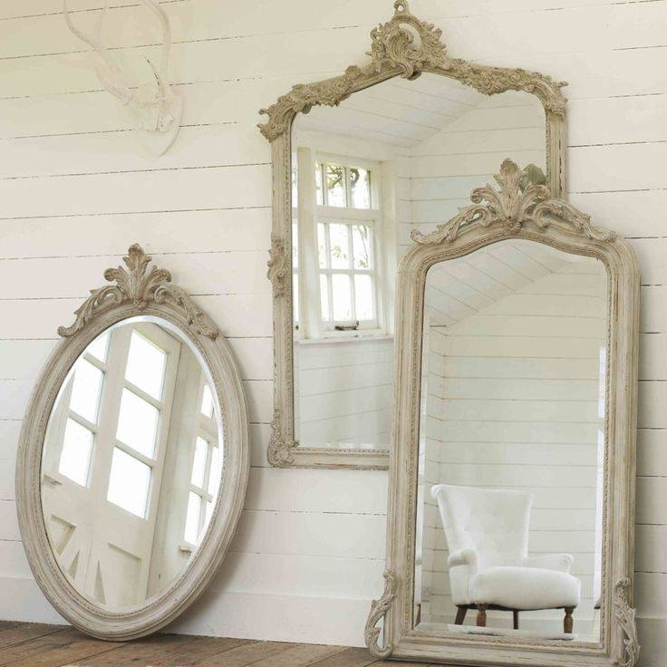 Inspiration about 344 Best Mirrors Images On Pinterest | Mirrors, Mirror Mirror And Home Regarding White French Mirrors (#10 of 20)