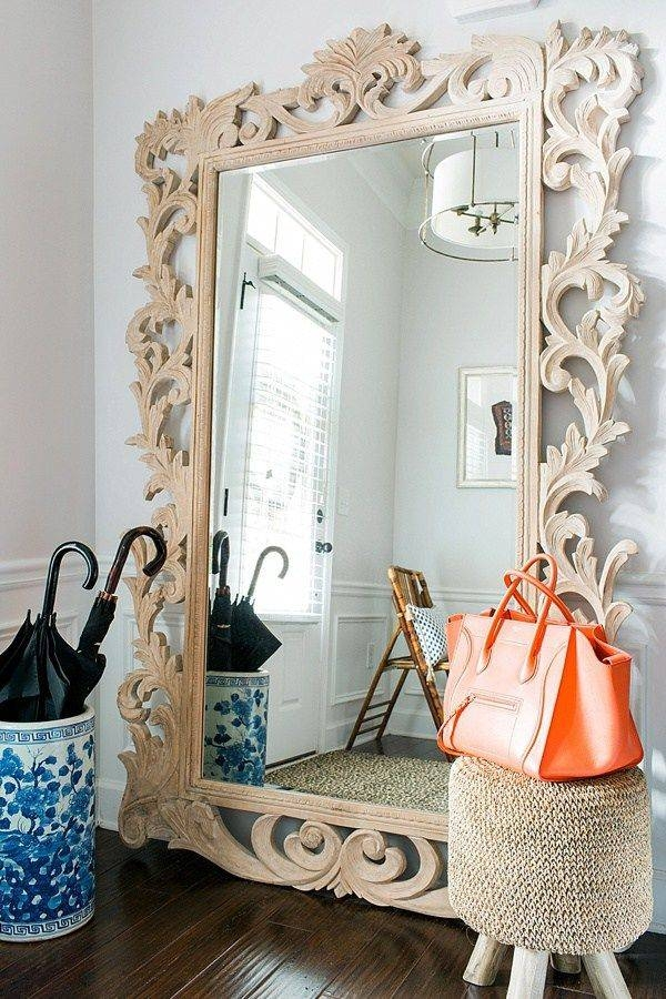 Inspiration about 346 Best Mirrors Images On Pinterest | Mirror Mirror, Mirrors And Pertaining To Large White Rococo Mirrors (#20 of 30)
