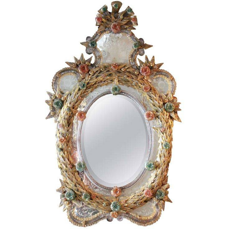 Inspiration about 346 Best Venetian And Venetian Style Furniture Images On Pinterest Inside Antique Venetian Glass Mirrors (#8 of 20)