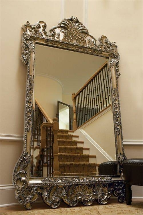 35 Best Mirrors Images On Pinterest | Floor Mirrors, Mirror Mirror Pertaining To Huge Ornate Mirrors (#4 of 30)