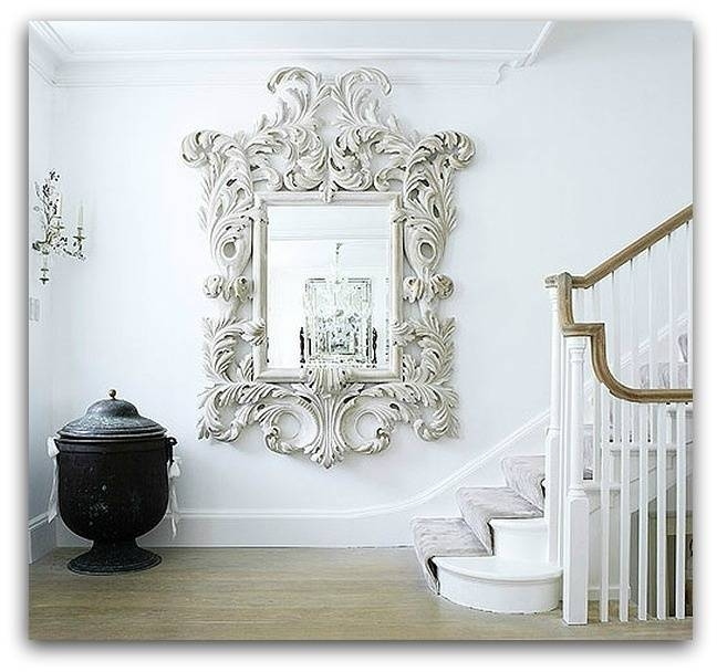 35 Best Mirrors Images On Pinterest | Mirror Mirror, Ornate Mirror Pertaining To Large White Ornate Mirrors (#3 of 20)