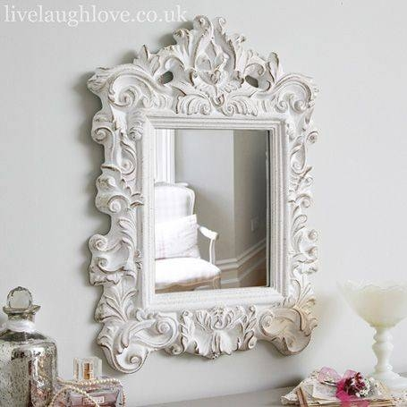 35 Best My Shabby Chic Bathroom Images On Pinterest | Shabby Chic With Gold Shabby Chic Mirrors (#3 of 15)