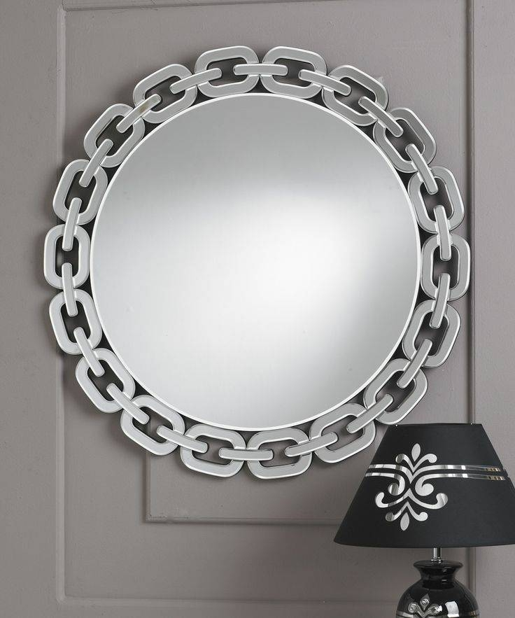 Inspiration about 35 Best Round Mirrors Images On Pinterest | Round Mirrors, Clear Inside Designer Round Mirrors (#4 of 20)